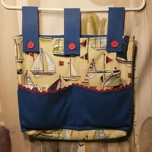 Handbags - Sailboat Walker Cozy Carryal Tissue Glasses Remote